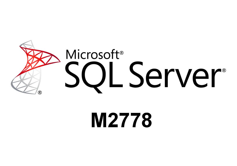 M2778 Создание запросов в Microsoft SQL Server 2008 R2/2005  с использованием Transact-SQL