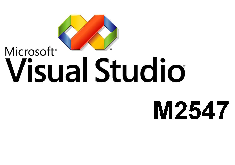 M2547 Углубленная разработка Windows Forms приложений с использованием Microsoft Visual Studio 2005
