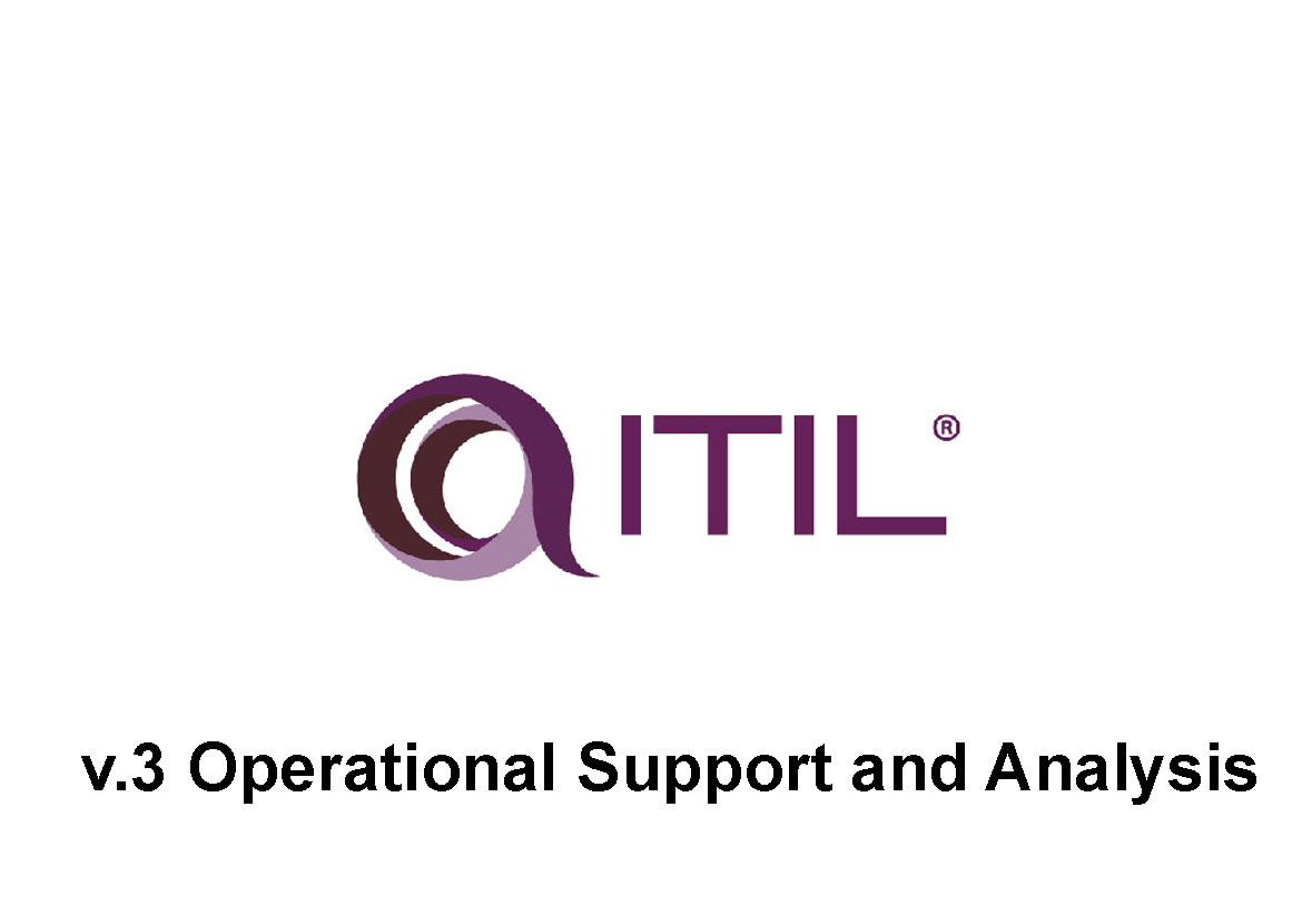 ITIL v.3 Operational Support and Analysis:  Поддержка сервисов