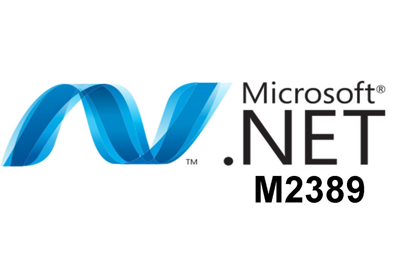 M2389 Программирование с ADO.NET
