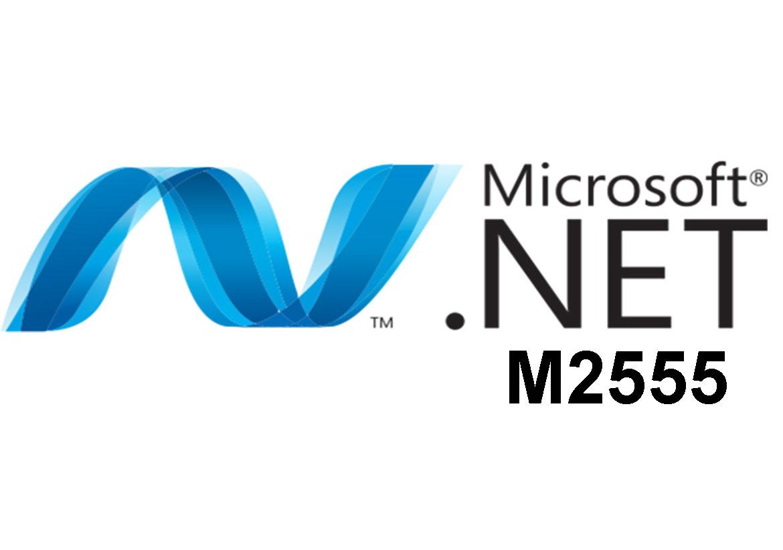 M2555 Разработка Microsoft .NET приложений для Windows с помощью Visual C# .NET