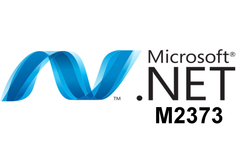 M2373 Программирование на языке Microsoft Visual Basic .NET