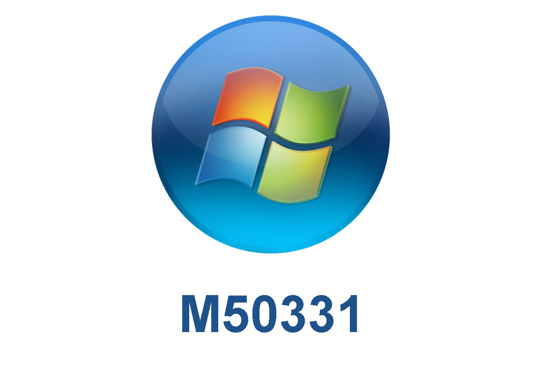 M50331 Техническая поддержка Windows 7 в корпоративной среде