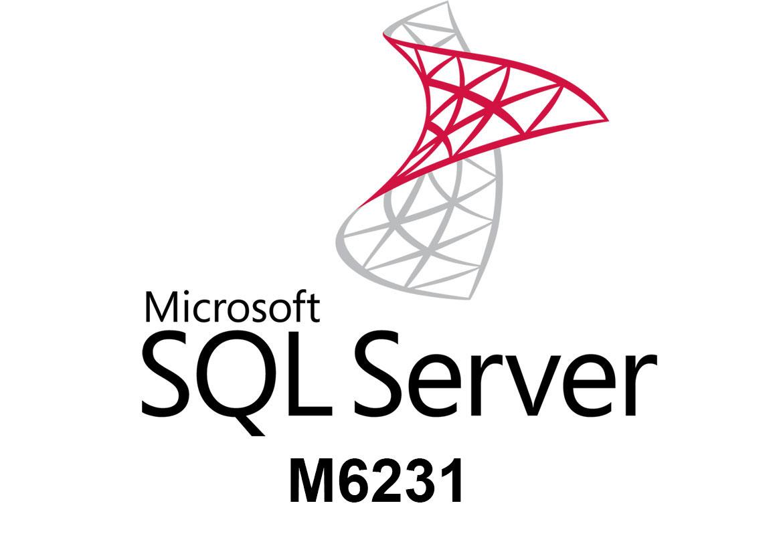 M6231 Поддержка баз данных в Microsoft SQL Server 2008 R2