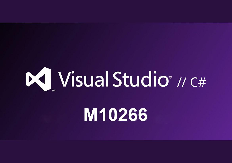 M10266 Программирование на C# с помощью Visual Studio 2010