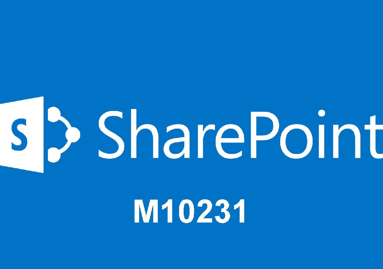 М10231 Проектирование и развертывание Microsoft SharePoint 2010