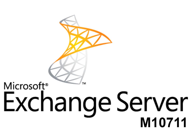 M10711 Настройка, управление и диагностика Microsoft Exchange Server 2010
