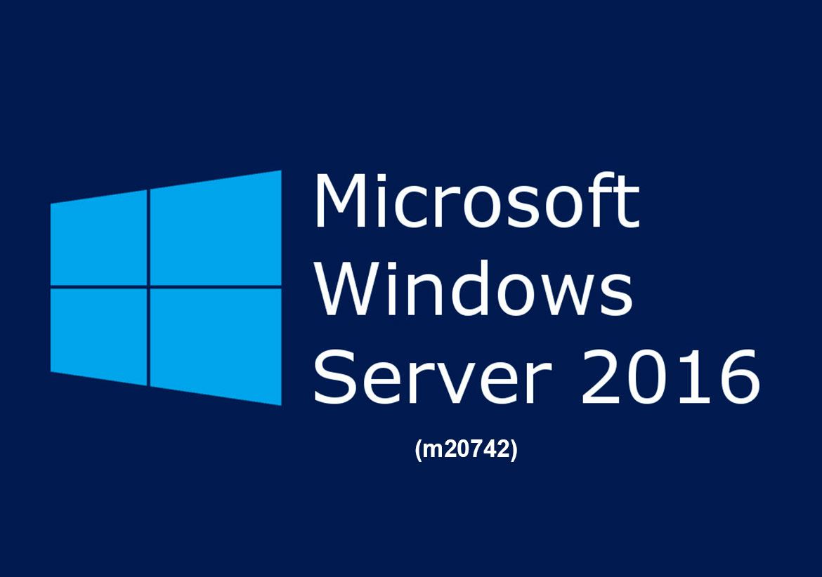 Проверка подлинности в Windows Server 2016. Identity with Windows Server 2016 (m20742)