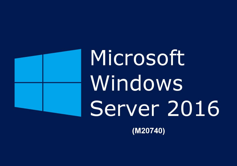 Установка, организация хранилища и работа в Windows Server 2016 Installation, Storage, and Compute with Windows Server 2016 (M20740)