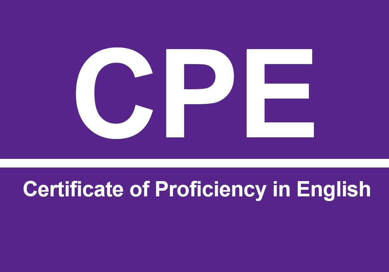 Экзамен «С2 Proficiency» — Certificate of Proficiency in English (CPE)